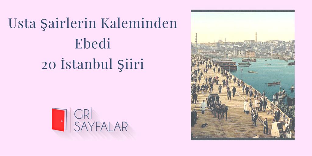 20 İstanbul Şiiri